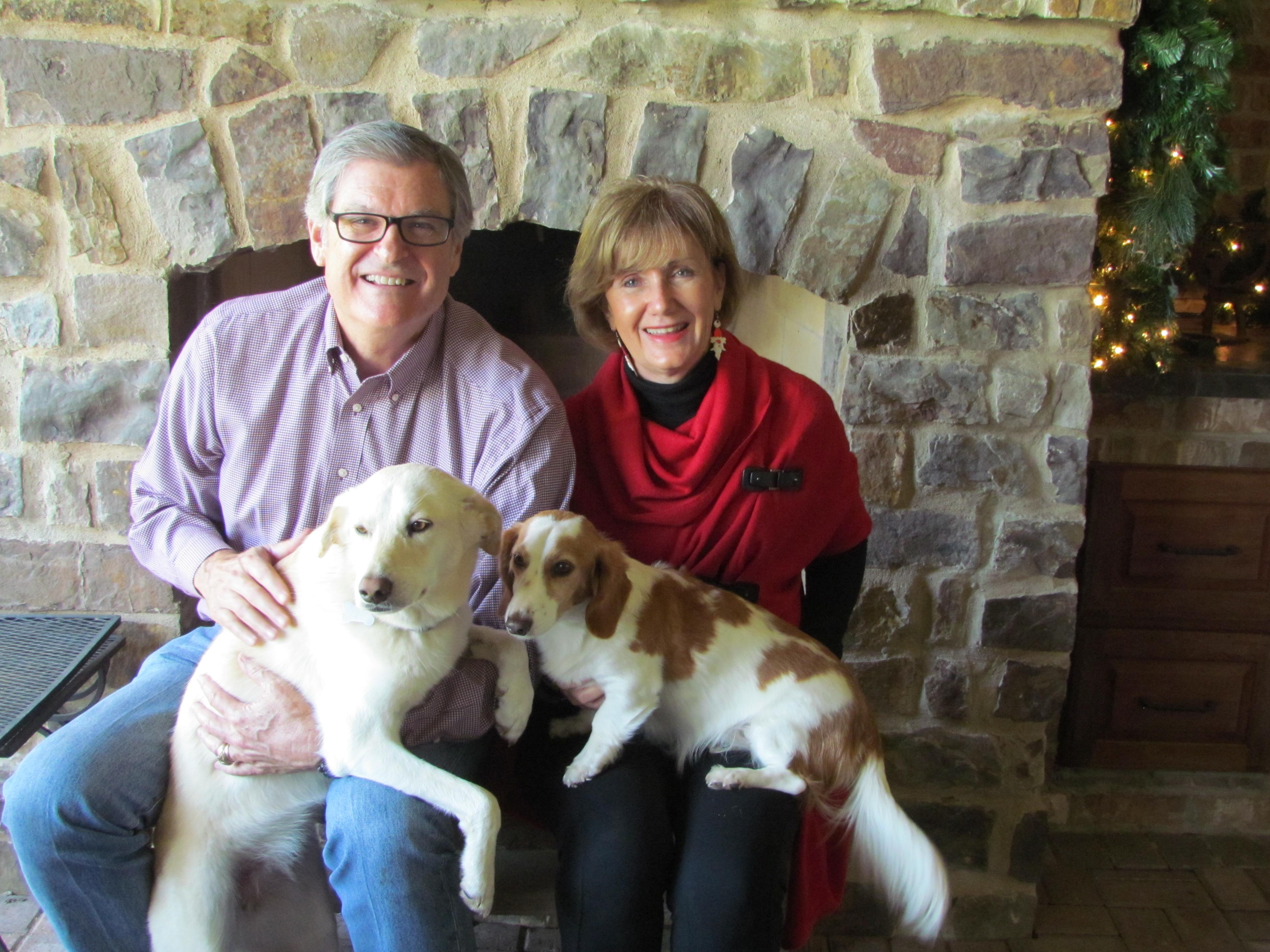 Phyllis and Lane Keller enjoying the holidays